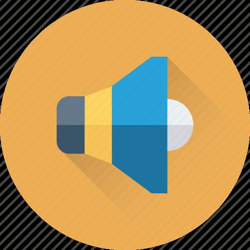 Loudspeaker, sound, speaker, voice, volume icon - Download on Iconfinder