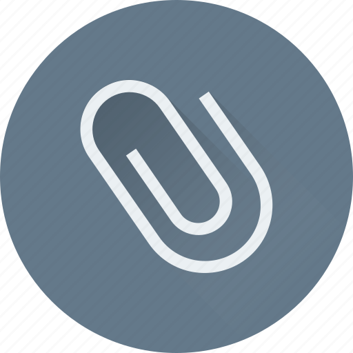 Attachment, binder, clinch, paperclip, stationery icon - Download on Iconfinder