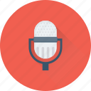 mic, microphone, recording, speak, speech icon