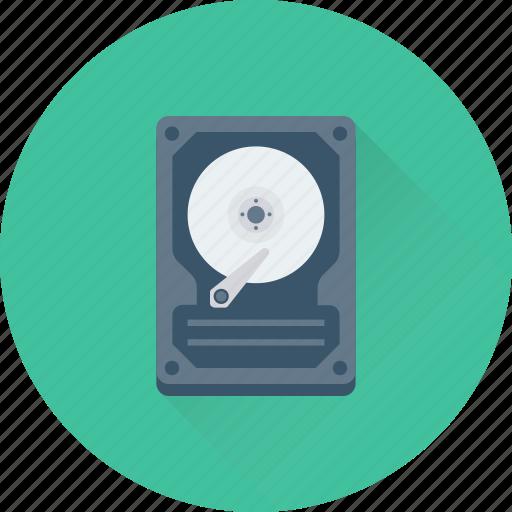 Hard disk, hard drive, hardware, hdd, storage icon - Download on Iconfinder