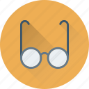 eyeglasses, spectacles, shades, specs, glasses icon