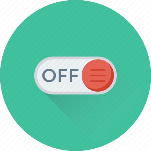 Off, off button, power, slider, toggle button icon | Icon ...