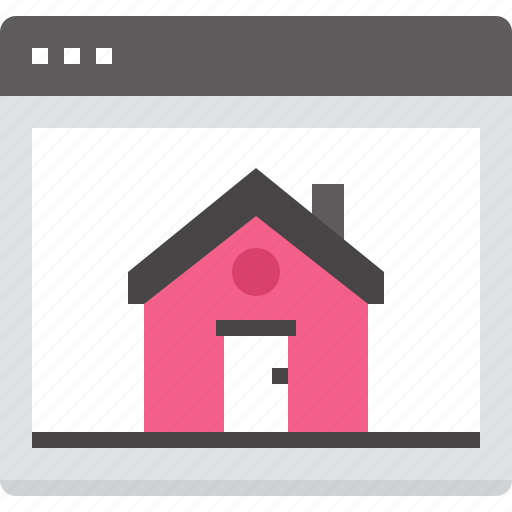 home, homepage, internet, main, page, web, website icon