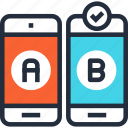 comparison, ab, web, mobile, testing, test, usability