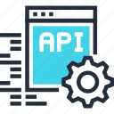 api, app, coding, development, settings, software, web
