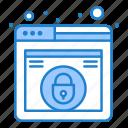 design, lock, security, web
