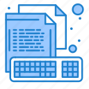 coding, computer, creative, file, keyboard