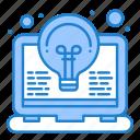 bulb, coding, idea, invention, light