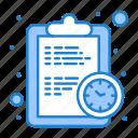 clock, deadline, efficiency, estimate