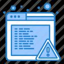 alert, browser, error