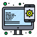 design, responsive, web icon