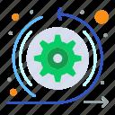 agile, arrows, scrum, sprint