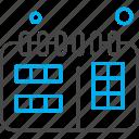 calendar, design, development, schedule, web