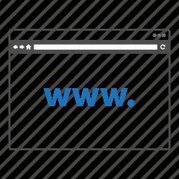 internet, web, web page, website, world wide web icon