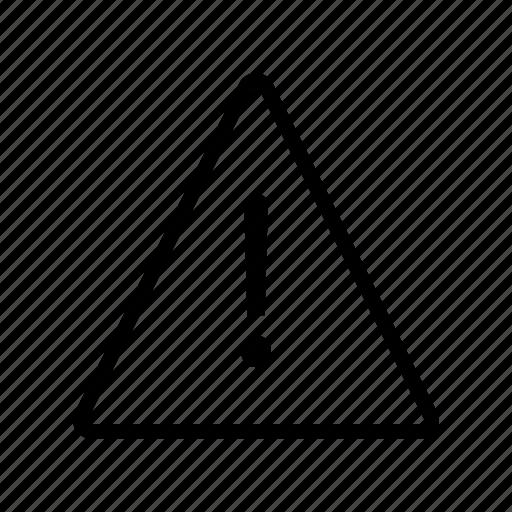 Alert, error, exclamation, notice, warning icon - Download on Iconfinder