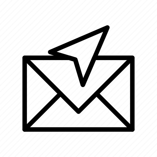 Letter, mail, message, paperplane, send icon - Download on Iconfinder