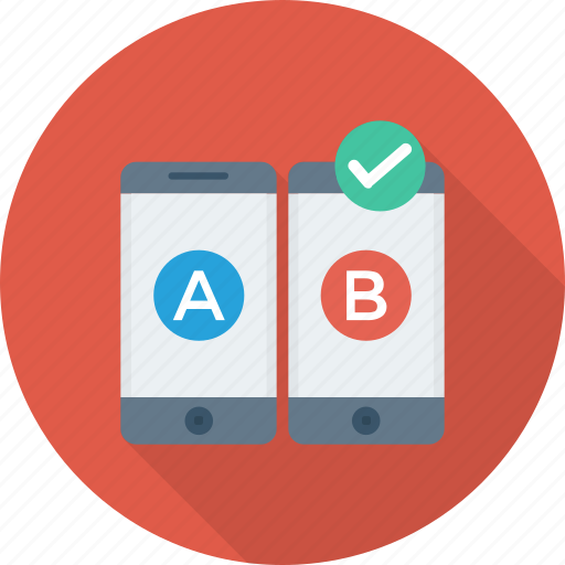 ab, comparison, mobile, test, testing, usability, web icon