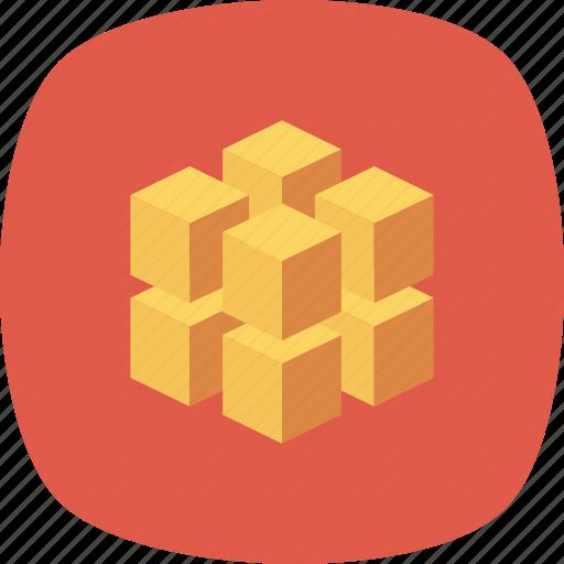 Block, box, data, database, registry, rubiks icon - Download on Iconfinder