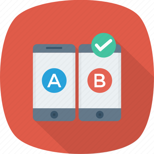Ab, comparison, mobile, test, testing, usability, web icon - Download on Iconfinder