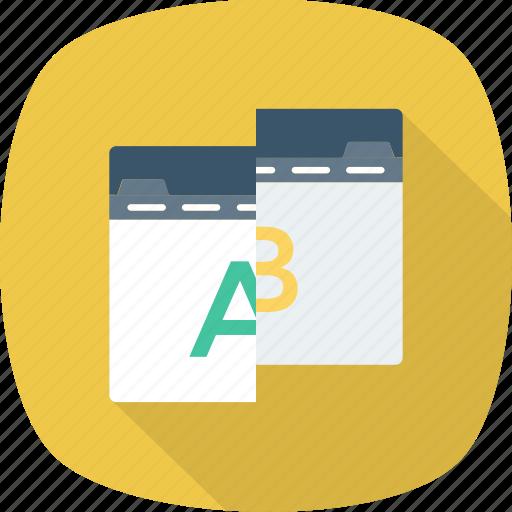 ab, comparison, test, testing, usability, web icon