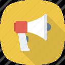 ad, advertising, alert, announcement, megaphone, news, promote