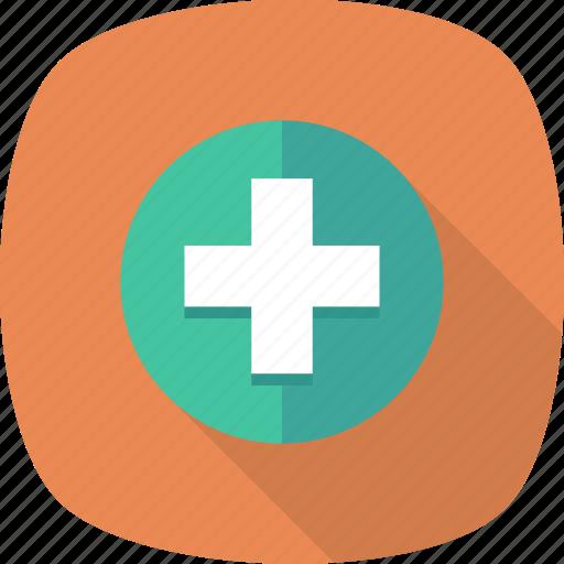 Create, add, plus, file, new, folder, page icon