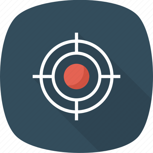 Archery, goal, success, focus, aim, target icon