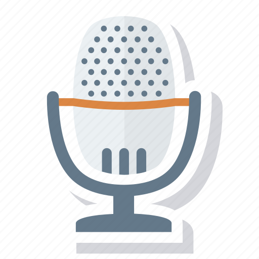 entertainment, mic, microphone, multimedia, music, sound icon