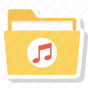 folder, music, songs icon