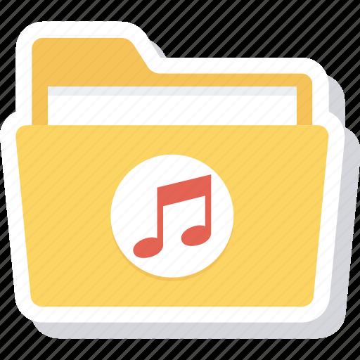 folder, music, songs icon