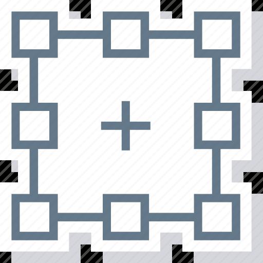frame, select, shape, square icon