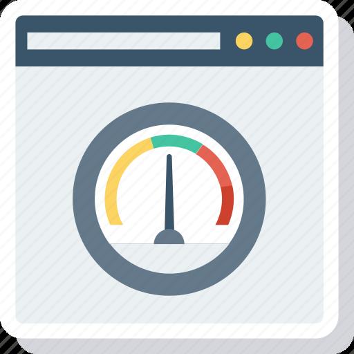 analyzer, internet, test, web icon
