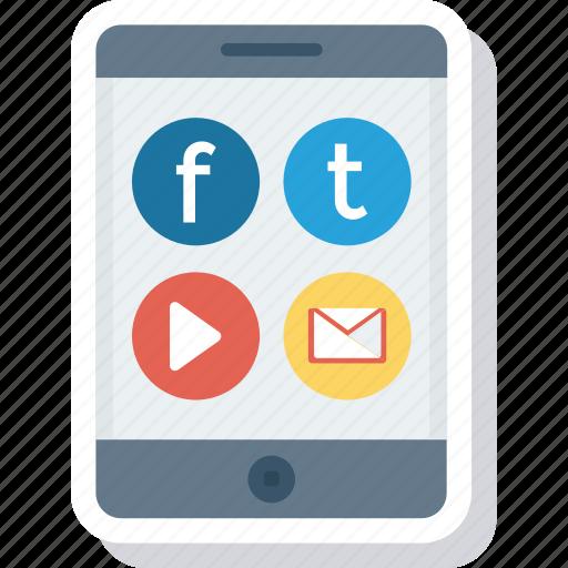 menu, mobile, social, ui icon