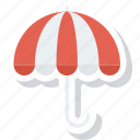 protection, rain, rainy, umbrella, weather icon