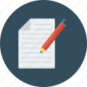 document, edit, file, page, paper, sheet, text icon icon