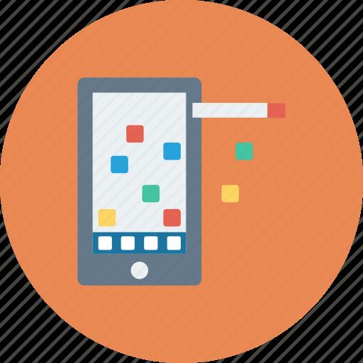 call, communication, mobile, phone, telephone icon icon