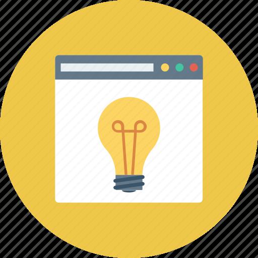 idea, new, seo, web, website icon icon
