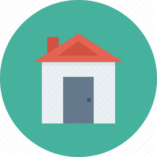 building, estate, home, house, property, real icon icon