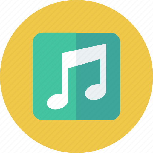audio, music, musical, note, sound icon icon