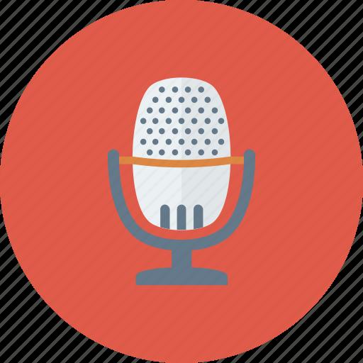entertainment, mic, microphone, multimedia, music, sound icon icon
