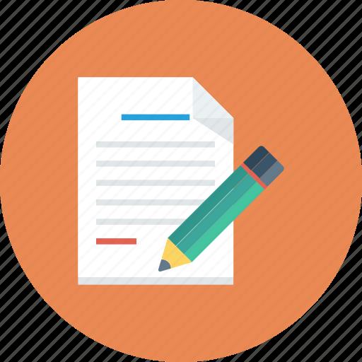 document, edit file, file, filetype, modify file, sheet icon icon