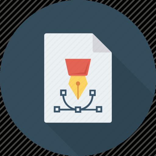 art, design, designing, file, graphic, paper icon