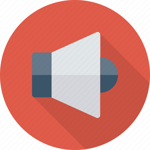 Audio, device, loudspeaker, sound, speaker, up, volume icon - Download on Iconfinder