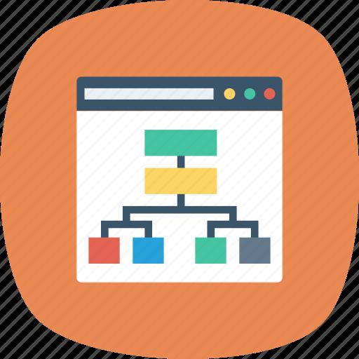 algorithm, catalog, map, seo, site icon