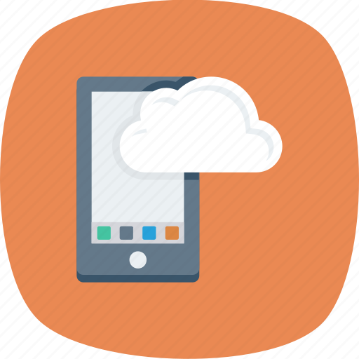 Android, cloud, computing, device, mobile, phone icon - Download on Iconfinder