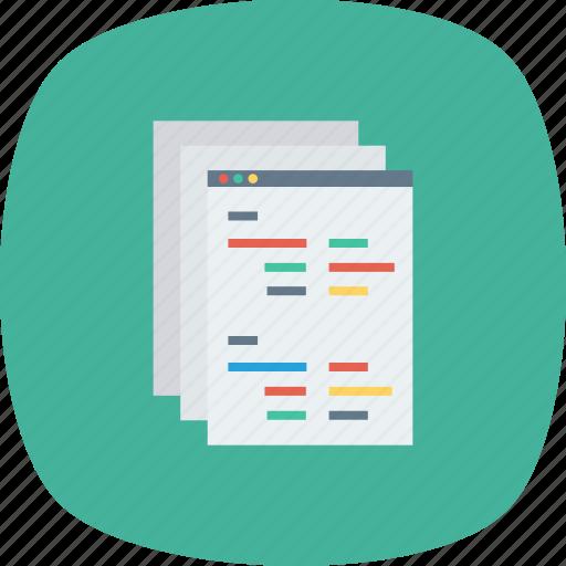 api, coding, developer, development, man, programming, screen icon