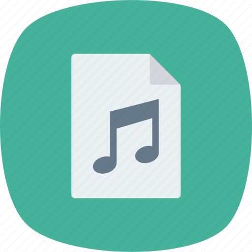 Audio, document, file, mp3, music, sound icon - Download on Iconfinder