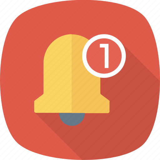 Notification, alarm, alert, ring, bell icon - Download