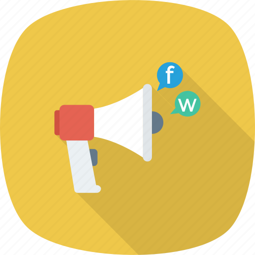 Announcement, media, promotion, social, video icon - Download on Iconfinder