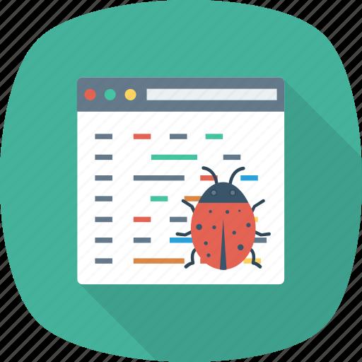 antivirus, bug, coding, computer, protection, security, virus icon
